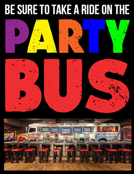 Party Bus Banner