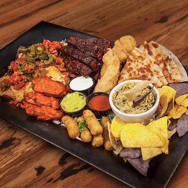 Monstrosity Platter (for 6 - 8)