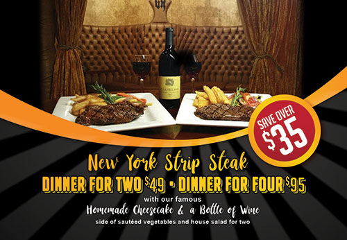 Strip Steak Dinner Special photo
