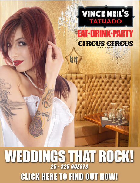 Wedding Promo - Weddings that rock - call us at 702.691.6550 to reserve your date now