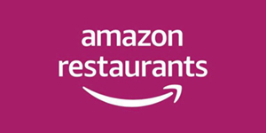Amazon restaurants logo