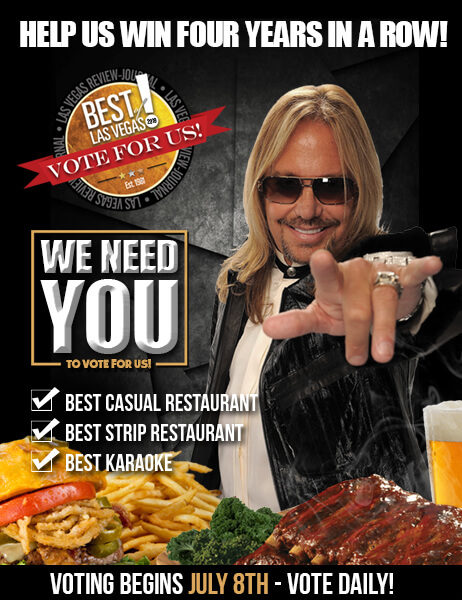 Vote for us in the Best of Las Vegas poll at www.bestoflasvegas.com